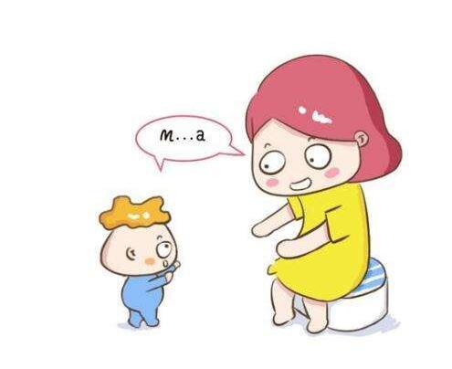 小孩叫妈妈
